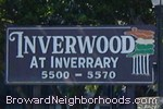 sign in front of Inverwood in Lauderhill